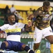 Hoje na Arábia Saudita, atacante diz que pretende voltar a jogar pelo Botafogo