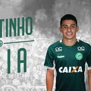 Goiás oficializa a contratação do meia Renatinho, que estava no Botafogo