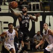 Basquete: Botafogo vence São José e avança para as quartas do NBB pela primeira vez na história
