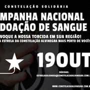 Botafogo convoca alvinegros para campanha nacional de doação de sangue dia 19