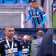 Emprestado pelo Botafogo, Luiz Fernando estreia pelo Grêmio, joga 37', leva caneta e amarelo e é campeão gaúcho com Diego Souza