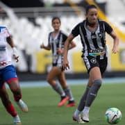 Brasileiro Feminino A-2: Botafogo sofre gol em pênalti duvidoso no fim e empata com Bahia na ida da semifinal
