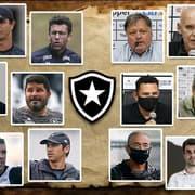 O passado vive: dura realidade faz Botafogo insistir em contratações de velhos nomes para liderar o futebol