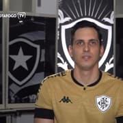 No Dia do Goleiro, Gatito exalta Manga e Jefferson: 'Representar a camisa do Botafogo é um desafio muito grande'