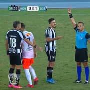 Botafogo: Marcinho será julgado por expulsão na Taça Rio e pode pegar até 12 jogos de suspensão