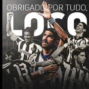 Botafogo homenageia o agora ex-jogador Loco Abreu: 'Que bom que nossas histórias se encontraram'