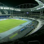 Técnico da Argentina critica gramado do Estádio Nilton Santos: 'Estado lamentável'