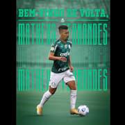 Dispensado do Barcelona, ex-Botafogo Matheus Fernandes é anunciado de volta pelo Palmeiras