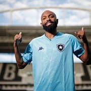 Botafogo estreará novo uniforme azul contra o Vila Nova, domingo