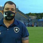 Enderson admite Botafogo mal tecnicamente em Belém e explica Luís Oyama aberto na direita: 'Fechar o jogo'