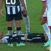 Gilvan diz que sentiu apenas câimbras e não deve ser problema no Botafogo contra o CSA