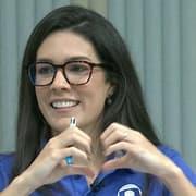 Ana Thaís Matos reage a torcedor que pediu Renata Silveira narrando jogos do Botafogo 'enquanto clube existir': 'Então vai narrar para sempre'