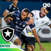 VÍDEO | Gol e melhores momentos da vitória do Botafogo sobre o Remo em Belém