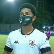 Autor do gol da vitória do Botafogo, Warley exalta luta dos jogadores: 'Fomos guerreiros'