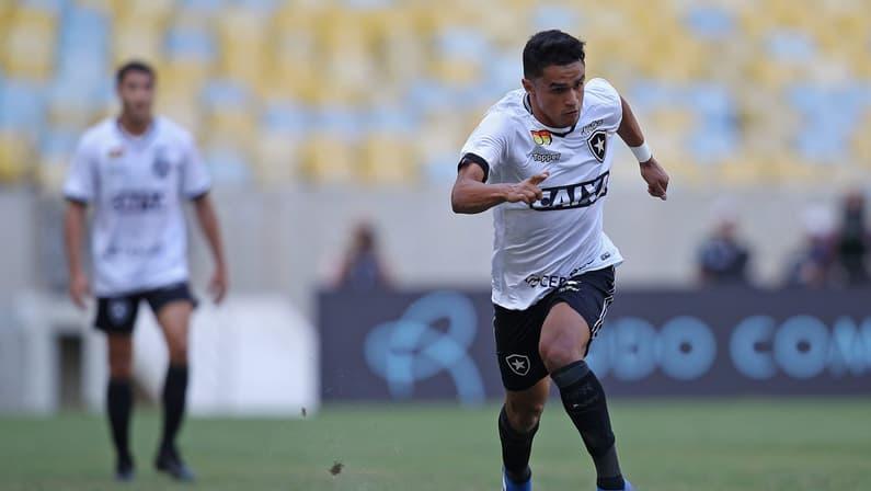 Ressurgiu! Pelo Botafogo, Erik anotou o número de gols que fez em Atlético-MG e Palmeiras