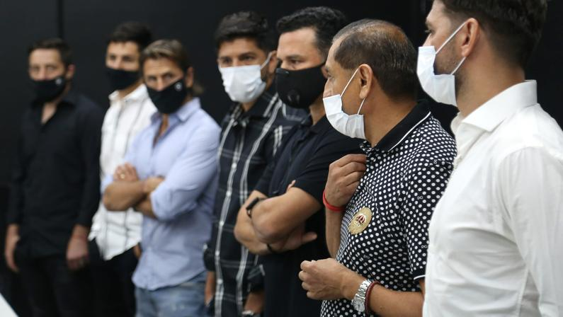 Chamadas de vídeo e contato diário: como Ramón Díaz acompanha o Botafogo de longe