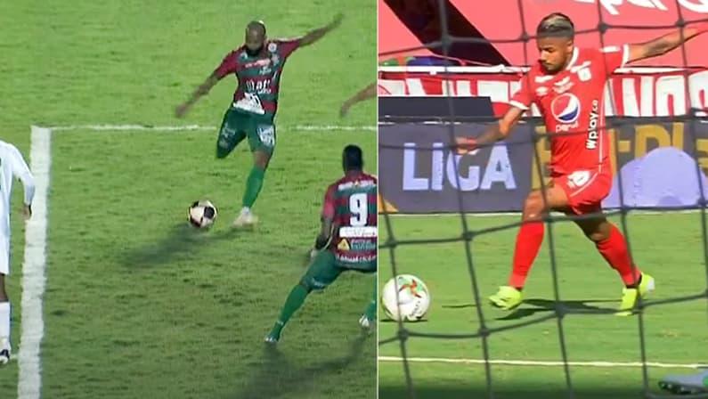 Chay, da Portuguesa, e Yesus Cabrebra, do América de Cali, oferecidos ao Botafogo, marcam golaços