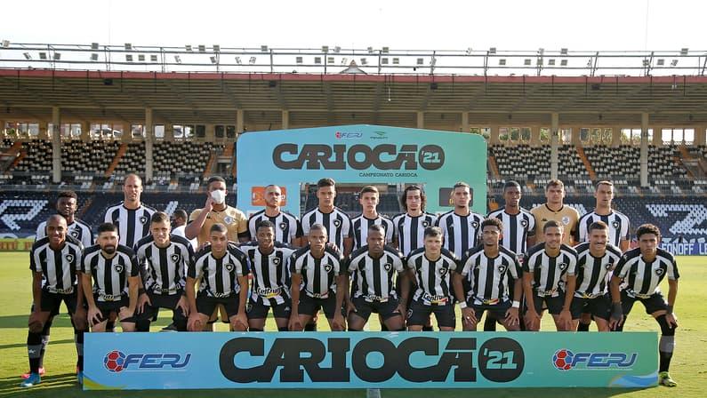 Elenco posado - Vasco x Botafogo - Final da Taça Rio