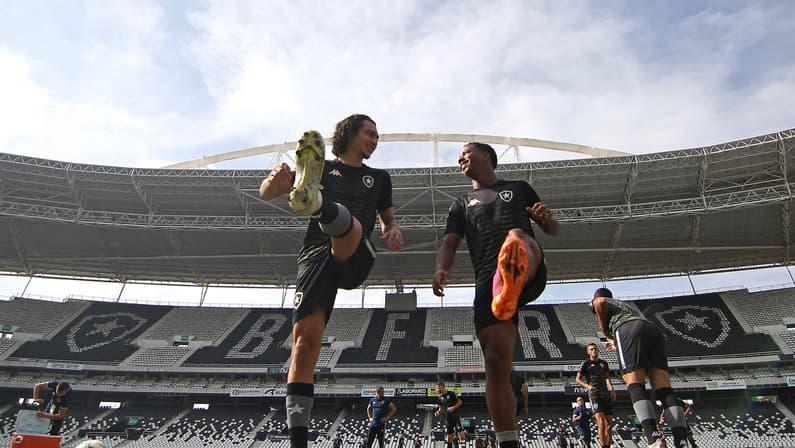 Botafogo: Matheus Nascimento vai para jogo decisivo do sub-20; Ênio fica no profissional