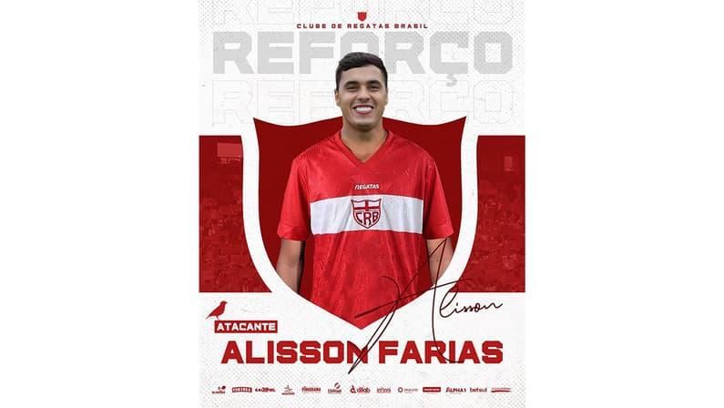 Alisson Farias é anunciado pelo CRB