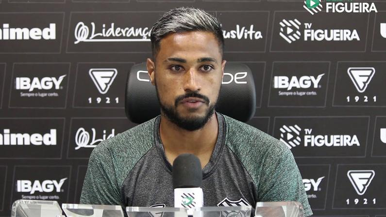 Diego Gonçalves, ex-Figueirense, está próximo do Botafogo