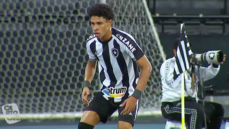 Paulo Victor (PV) em Botafogo x Nova Iguaçu | Semifinal da Taça Rio | Campeonato Carioca 2021