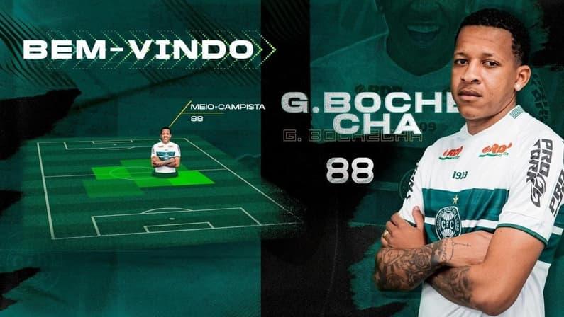 Ex-Botafogo, Gustavo Bochecha é reforço do Coritiba