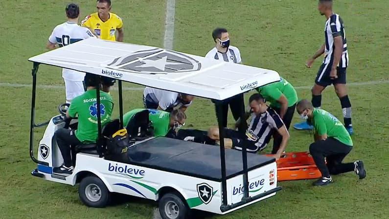 Pedro Castro em Botafogo x Coritiba   Série B do Campeonato Brasileiro 2021