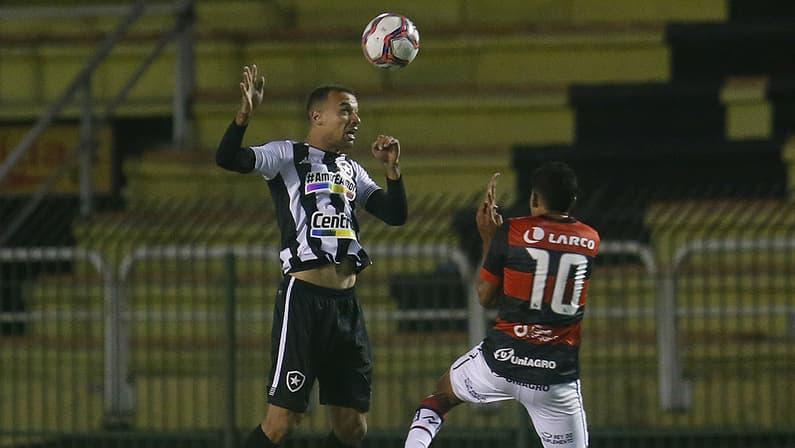 Gilvan em Botafogo x Vitória | Série B do Campeonato Brasileiro 2021