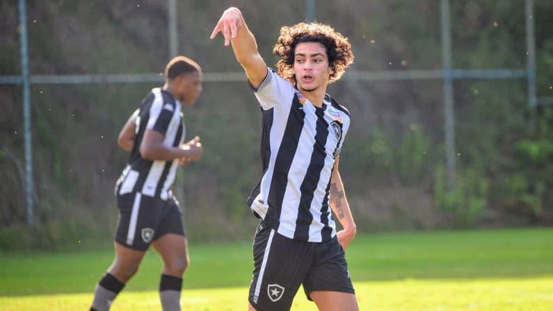 Gol de Matheus Nascimento - Botafogo x Athletico-PR - Campeonato Brasileiro Sub-20