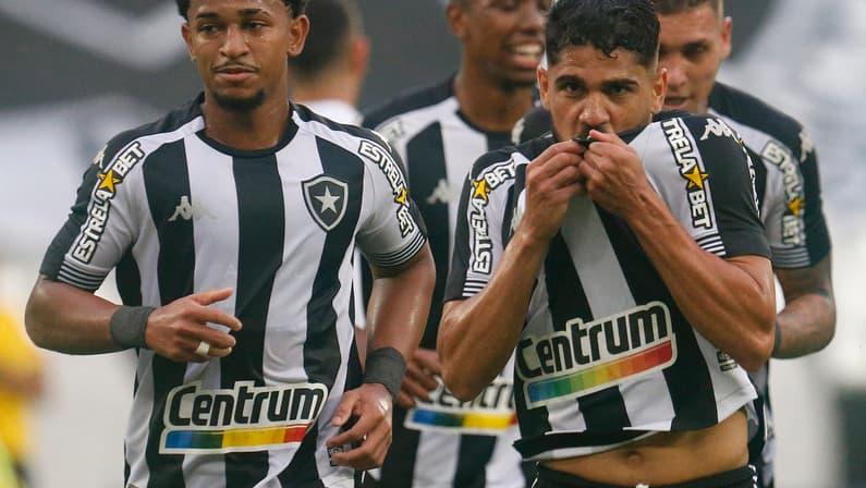 A eficiência do Botafogo está em não depender de um jogador