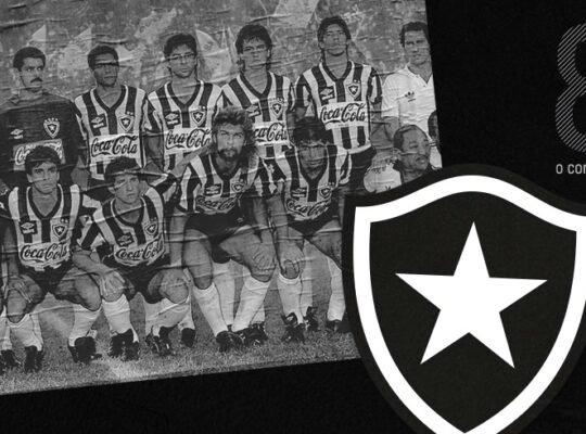 Em dia de festa, Botafogo chama torcedores para conhecer campeões de 89