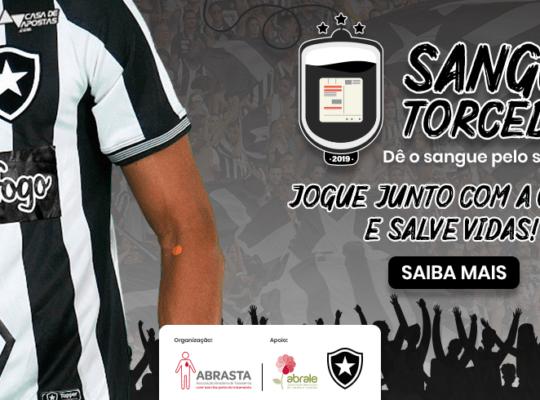 Botafogo participa de ação especial: campeonato brasileiro de doação de sangue
