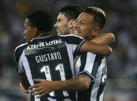Após vitória, Botafogo reduz chance de rebaixamento para 4%