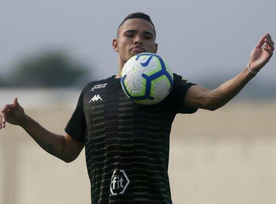 Luiz Fernando, do Botafogo, concorre em enquete de maior revelação recente de Tocantins