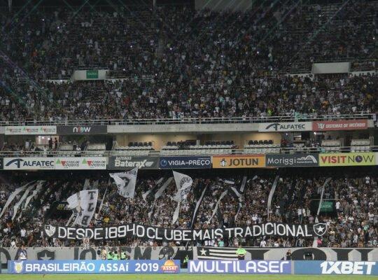 Botafogo arrecadou mais com bilheteria do que com patrocínios no ano passado