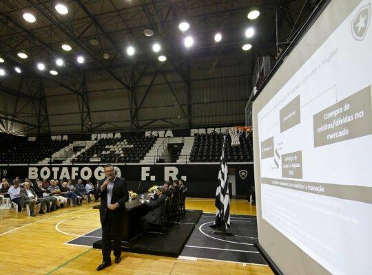 Botafogo S/A já tem cerca de 60 investidores apalavrados; clube aguarda votação no Senado