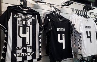 TIM conversa com Botafogo e outros clubes cariocas para renovar patrocínio