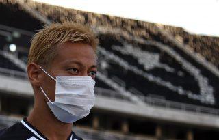 Honda, do Botafogo, sobre números do novo coronavírus: 'O que está acontecendo?'