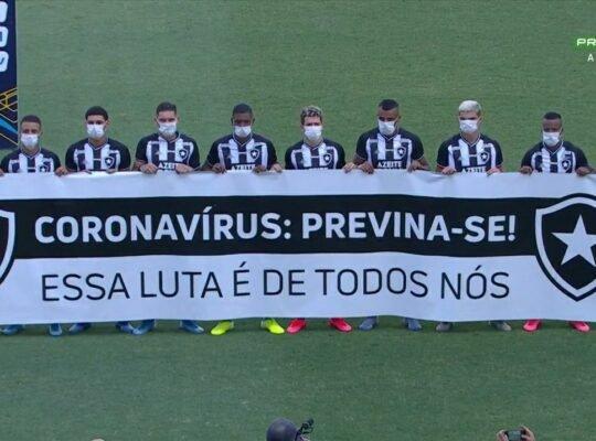 Após férias, Botafogo decide manter orientação por treinos em casa