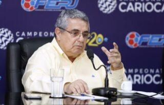 Ferj nega que presidente tenha feito ameaças a Botafogo e Fluminense em grupo de WhatsApp