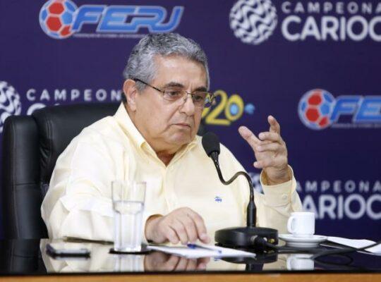 Ferj diz que Campeonato Carioca 'se decidirá em campo' e fala até em isolamento vertical