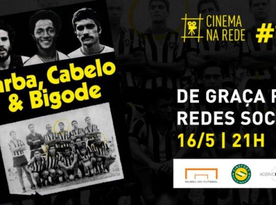 Botafogo exibe neste sábado filme 'Barba, Cabelo e Bigode', sobre Afonsinho, PC Caju e Nei Conceição