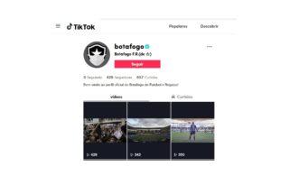 Botafogo agita redes sociais com coletivas virtuais e perfil no 'TikTok'