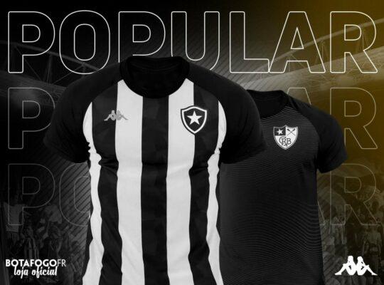 Com dois modelos, Botafogo inicia venda de novas camisas da linha popular