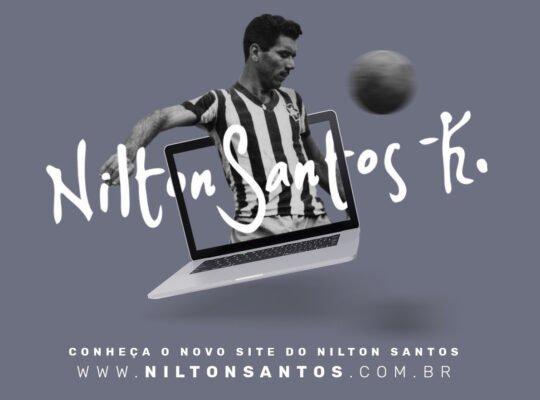 Site de Nilton Santos é relançado para celebrar 95 anos do nascimento do craque do Botafogo