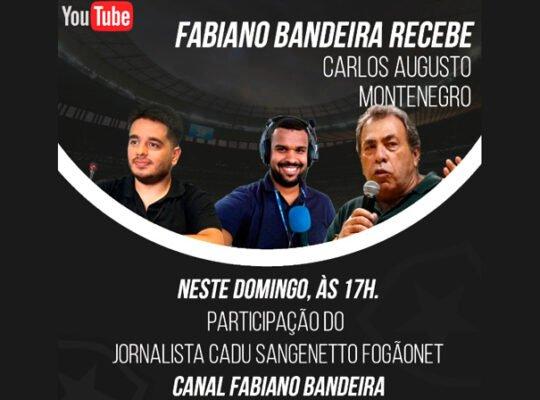 VÍDEO – Veja como foi a entrevista com Carlos Augusto Montenegro com a participação do FogãoNET