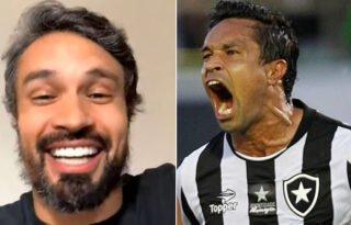 Dudu Cearense relembra emoção única de gol pelo Botafogo e explica 'aqui sim e aqui não' na Libertadores:  'O bicho pegava!'