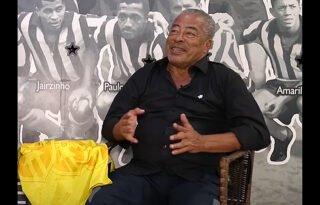 Jairzinho entra no Top-3 de maiores ídolos do Botafogo: 'Pulava o muro para ver o Garrincha'