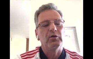 'Se eles (Botafogo) discordam, é uma indicação que estamos certos', diz presidente do Flamengo